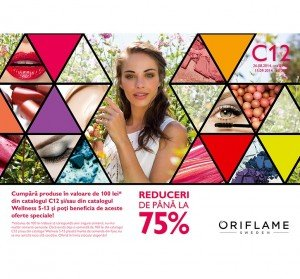 Flyer Oriflame C12 august - septembrie 2014